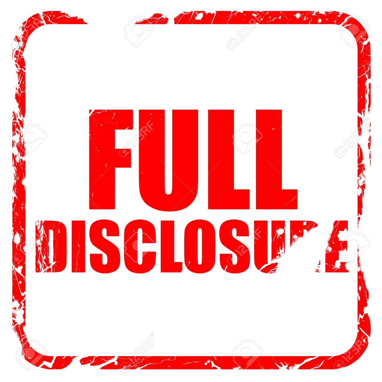 full disclosure lyrics