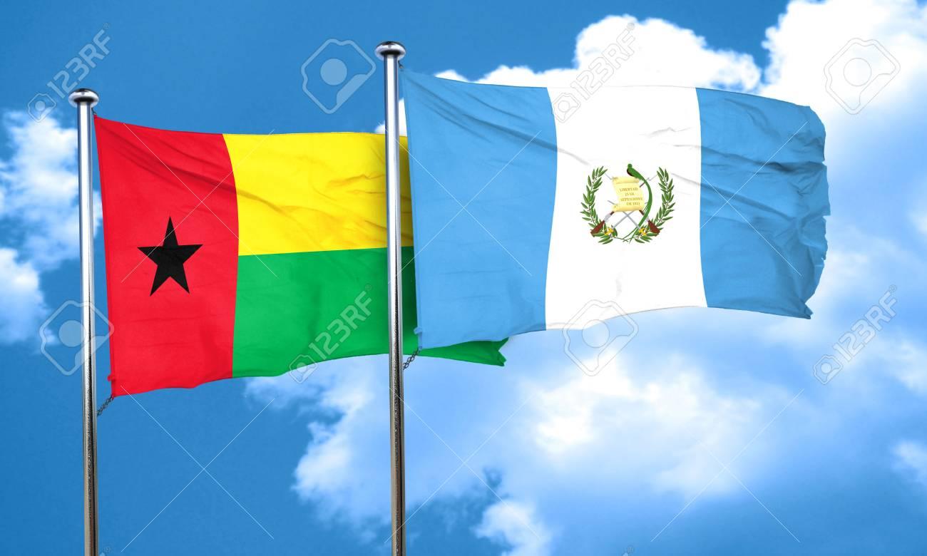 ギニア ギニアビサウの国旗グア...