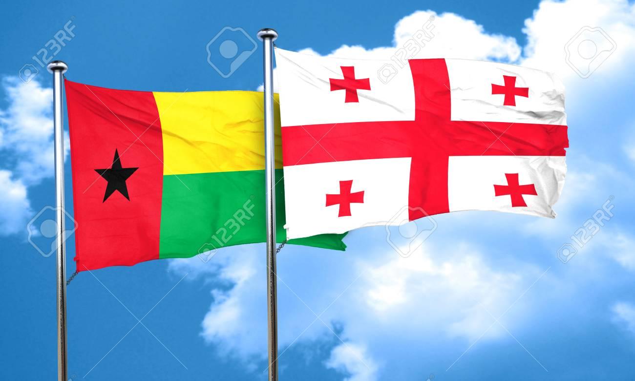 ギニア ギニアビサウの国旗ジョ...