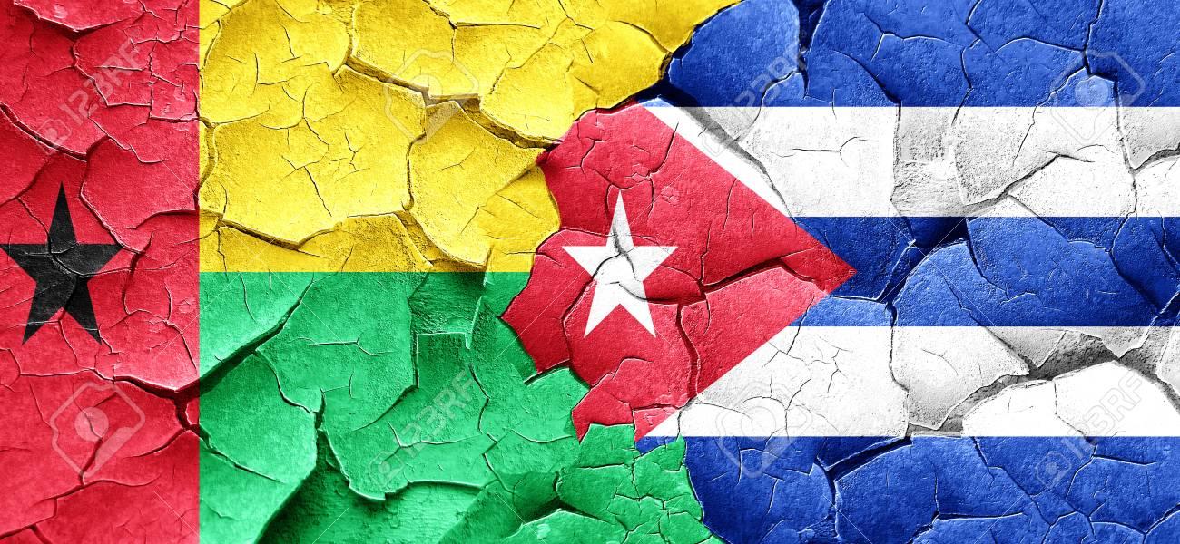 グランジのキューバ国旗とギニア...