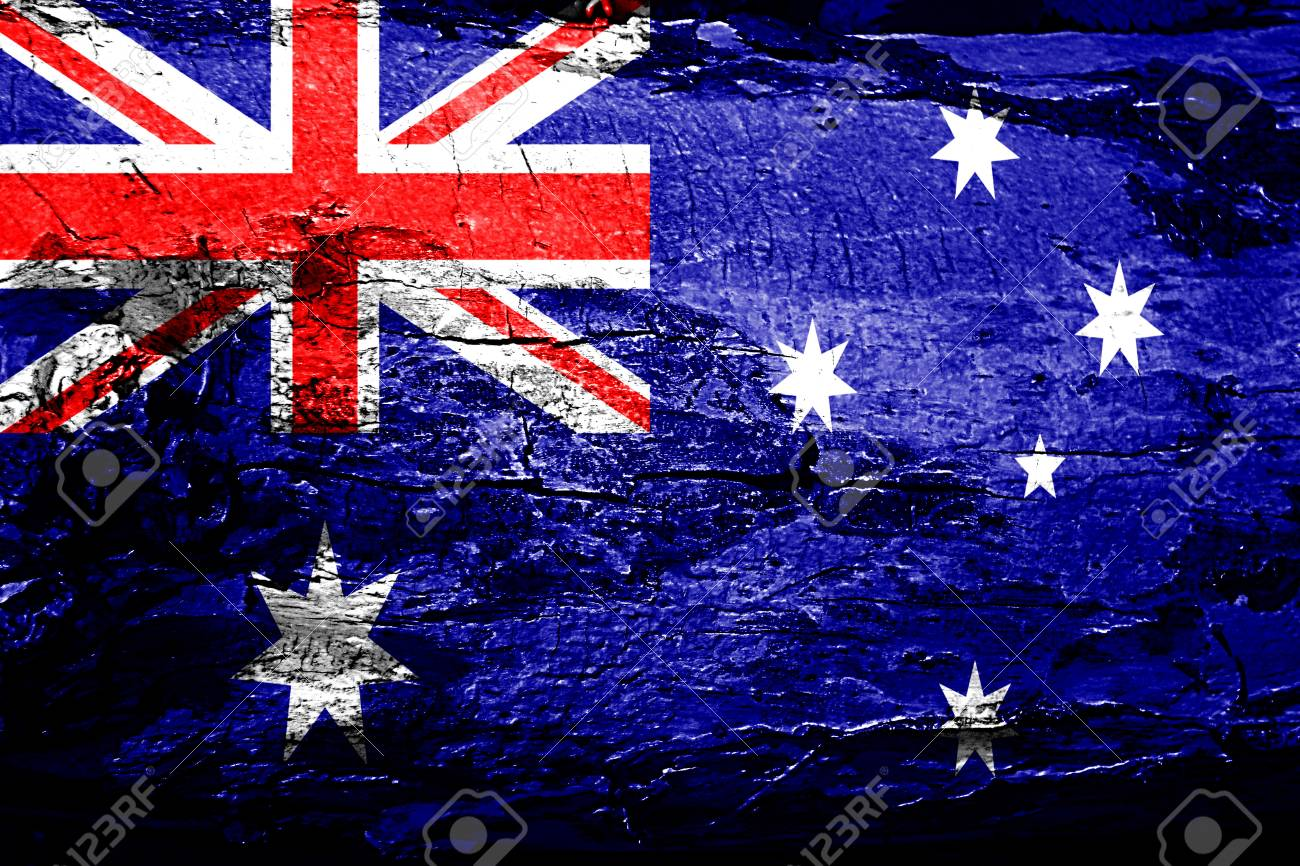 australia flag with grunge texture stock photo picture and royalty