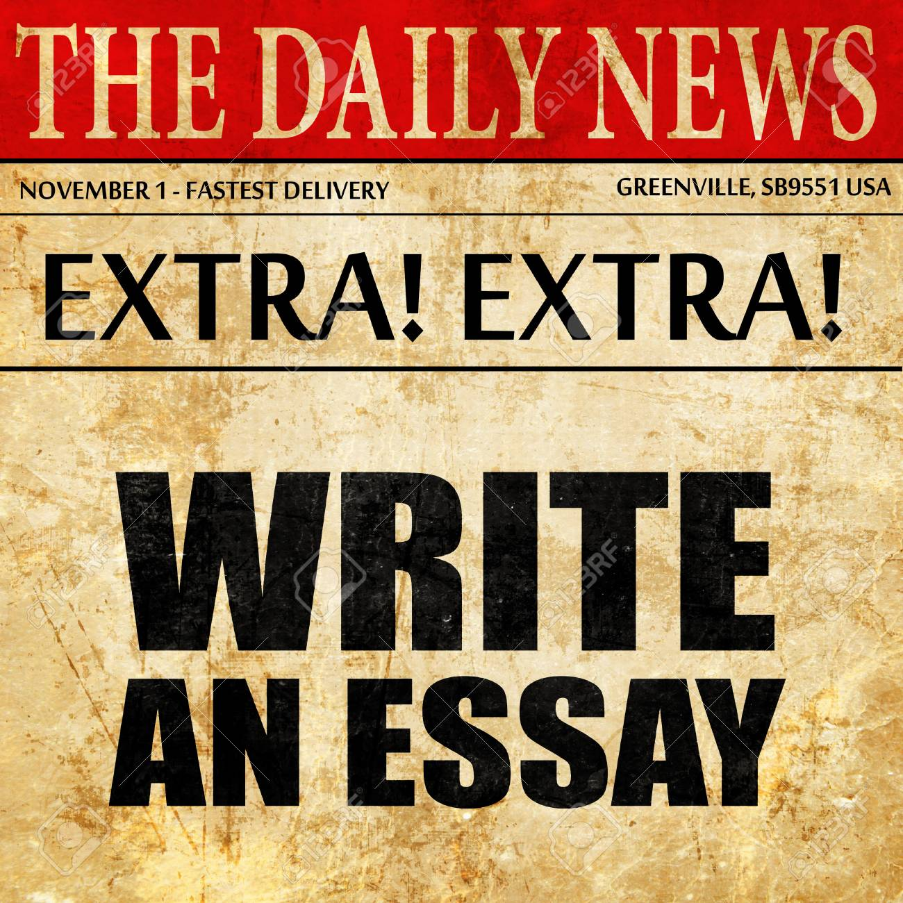 write an essay newspaper article text stock photo picture and  write an essay newspaper article text stock photo 70394433