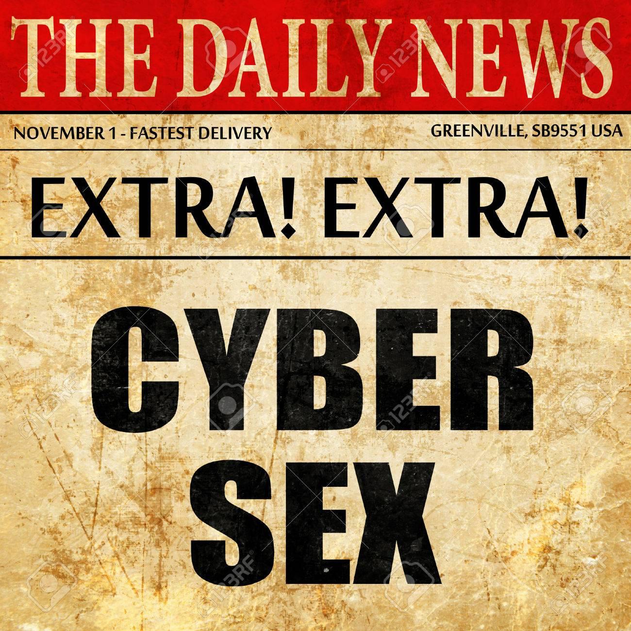 Секс в желтый газете