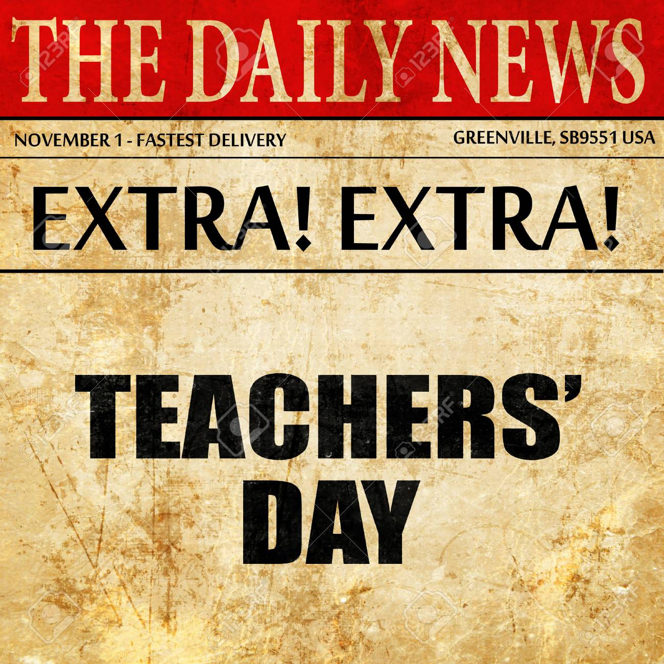 article on teachers day