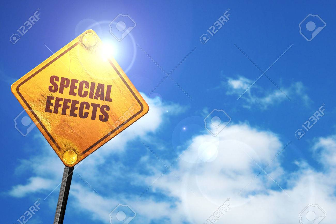 special effects, 3D rendering, traffic sign