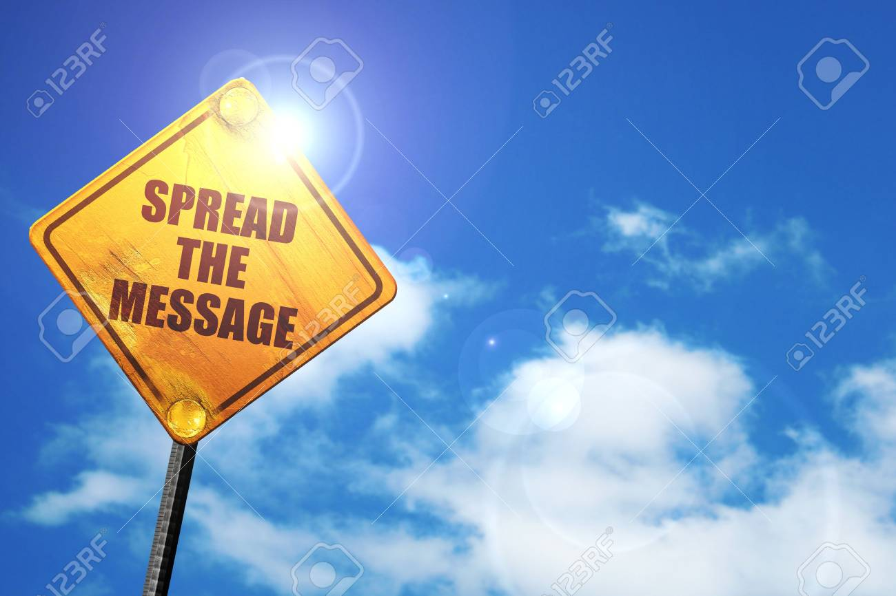 Image result for spread the message