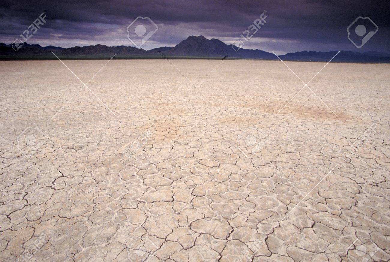 Dry Lake Bed In Arizona Usa Stock Photo Picture And Royalty Free Image Image 4071355