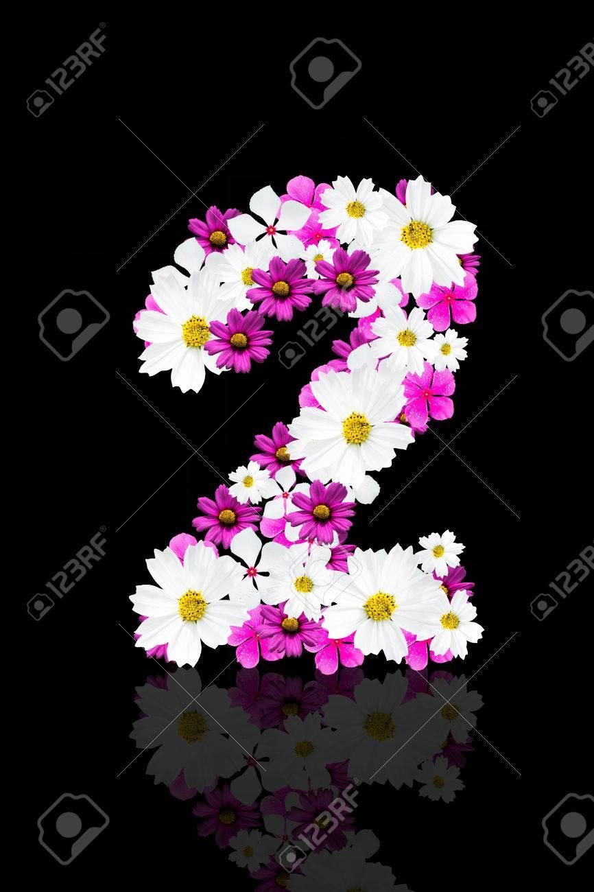 Numero Romantique De Belles Fleurs 2 Banque D Images Et Photos