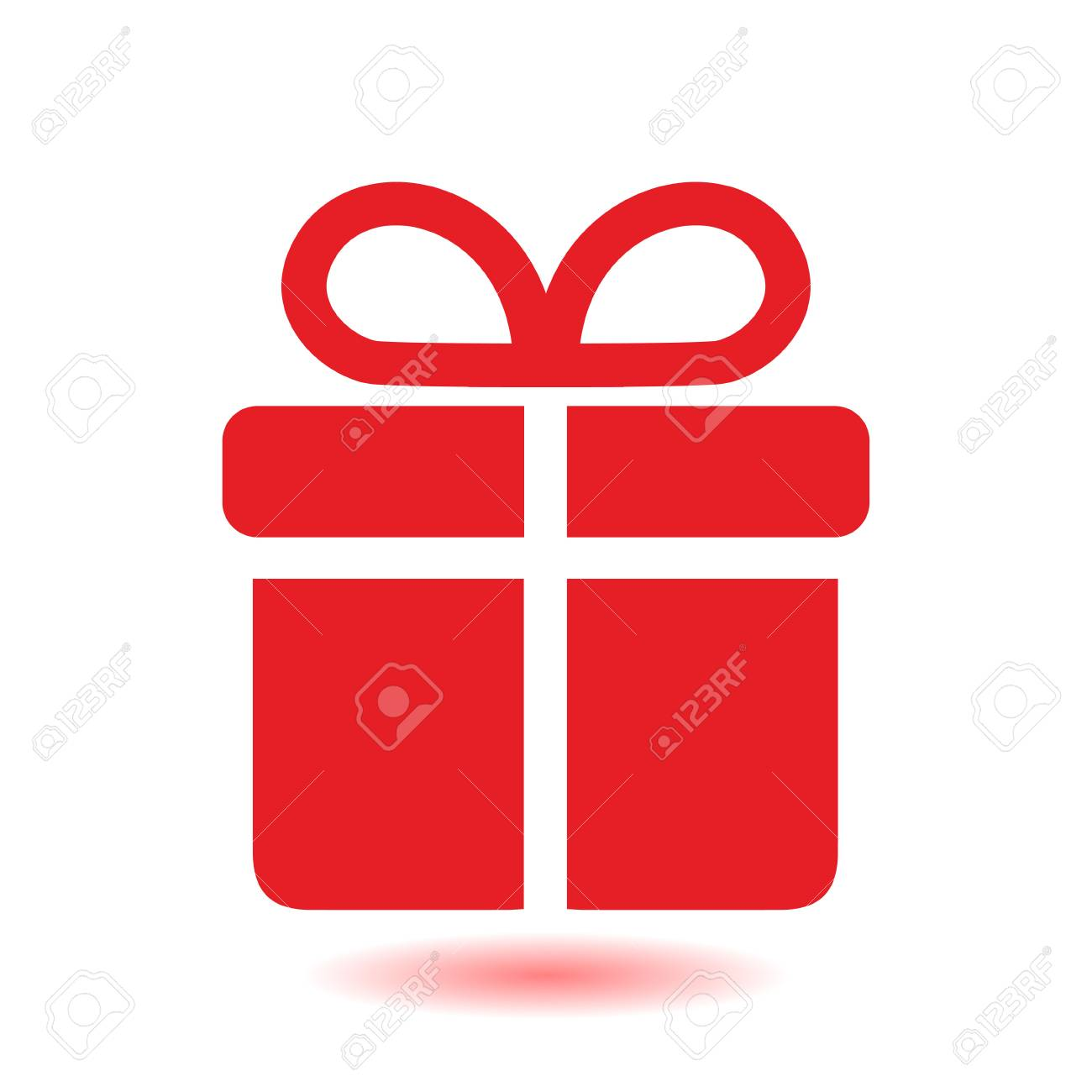 Gift box icon present a personal offer gift wrapping royalty gift box icon present a personal offer gift wrapping stock vector negle Images