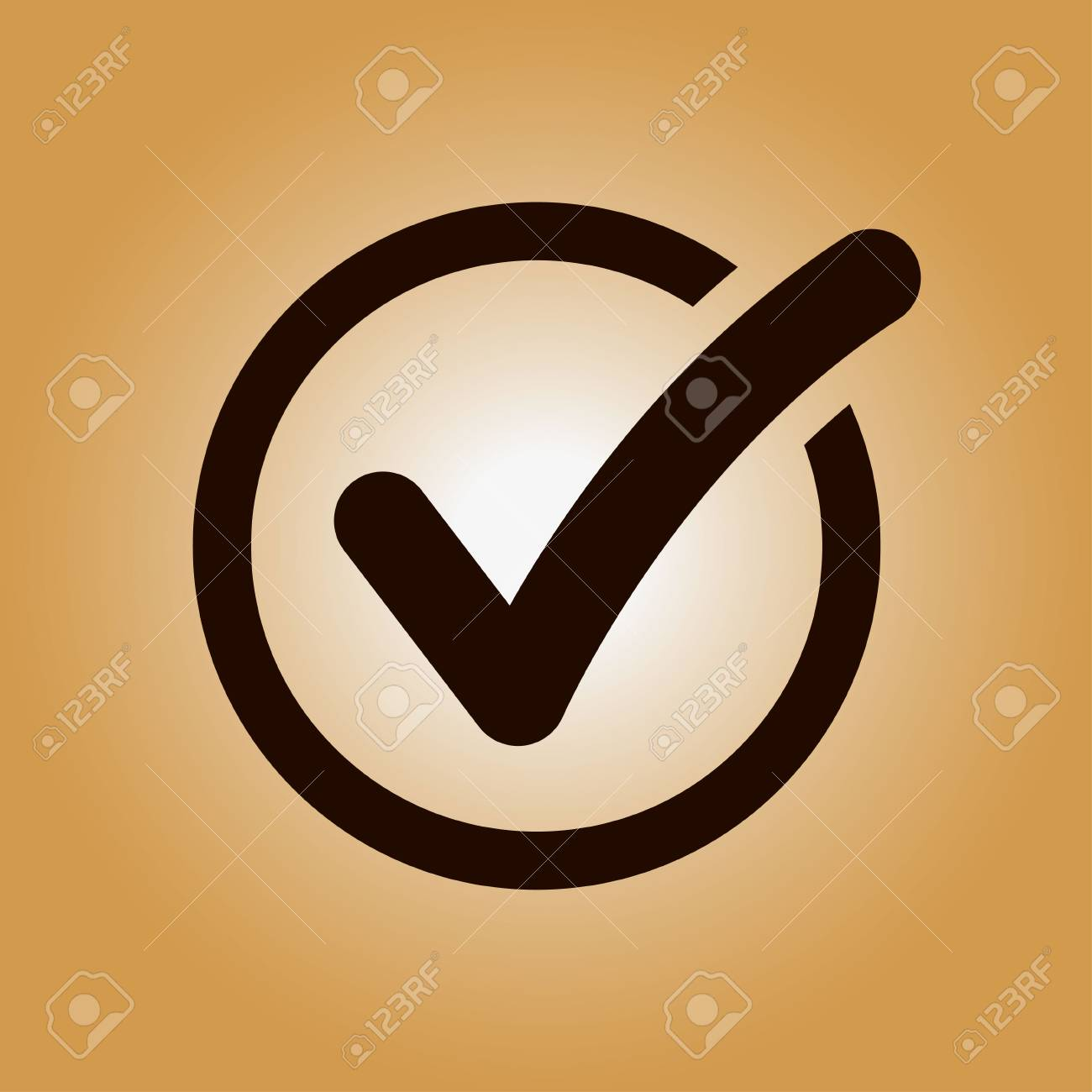 Check list button icon check mark in round sign royalty free check list button icon check mark in round sign stock vector 77982667 biocorpaavc Image collections