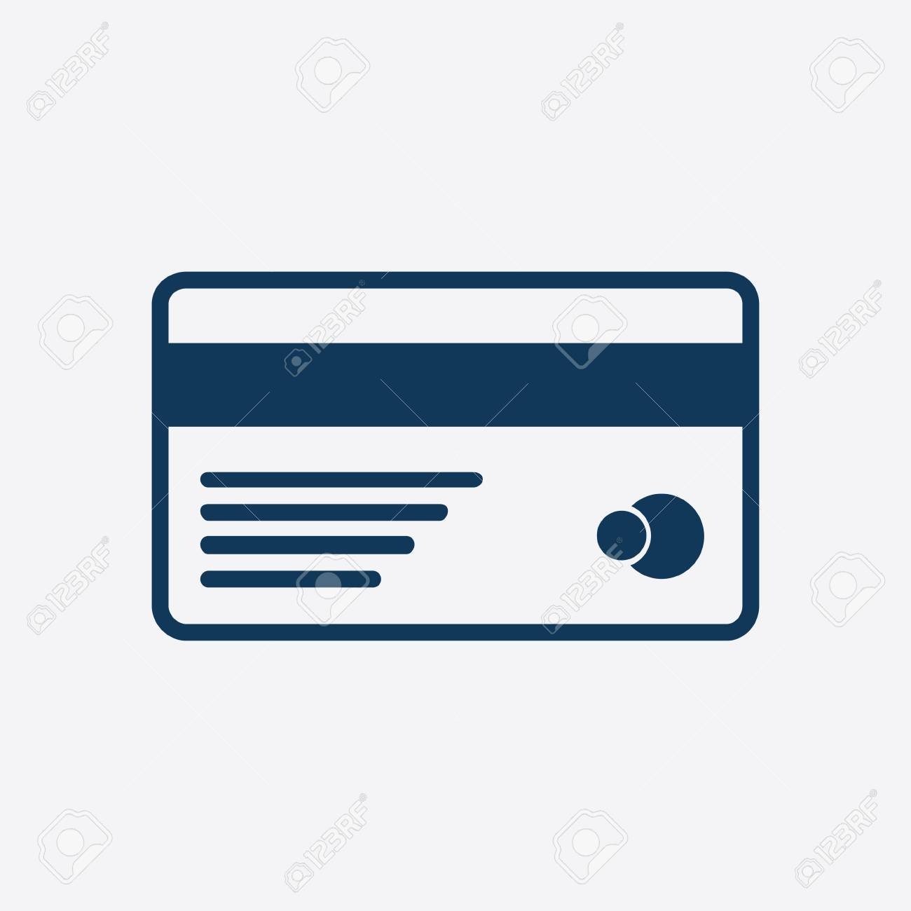 vector credit card icon flat design style royalty free cliparts rh 123rf com major credit card logos vector credit card logo vector images