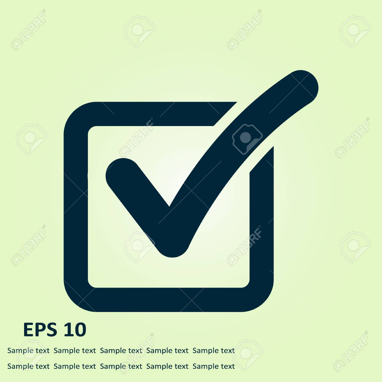 Check list button icon check mark in box sign royalty free check list button icon check mark in box sign stock vector 84634817 biocorpaavc Image collections