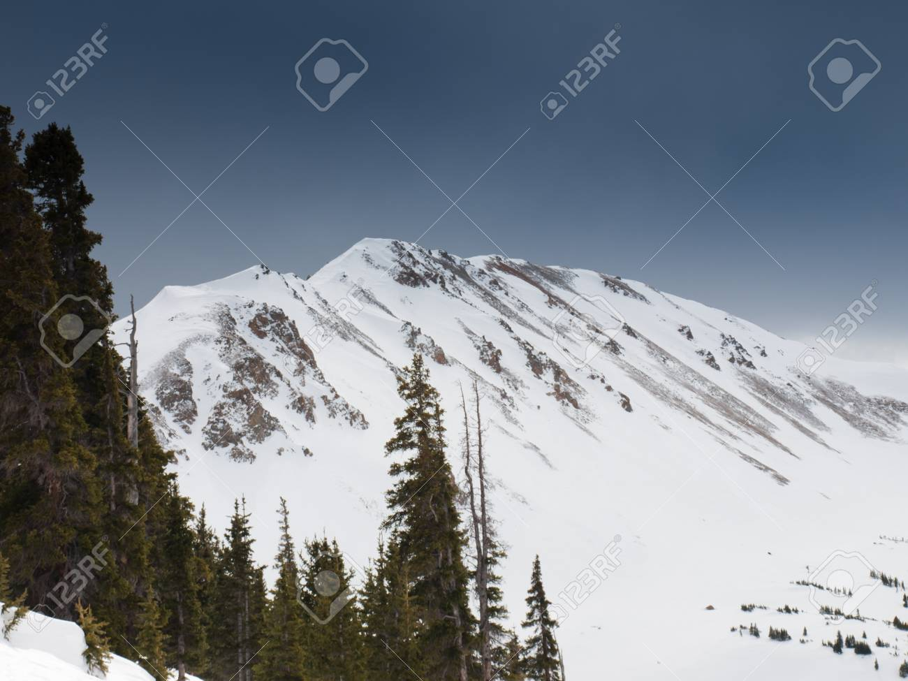 loveland ski resort in colorado. stock photo, picture and royalty