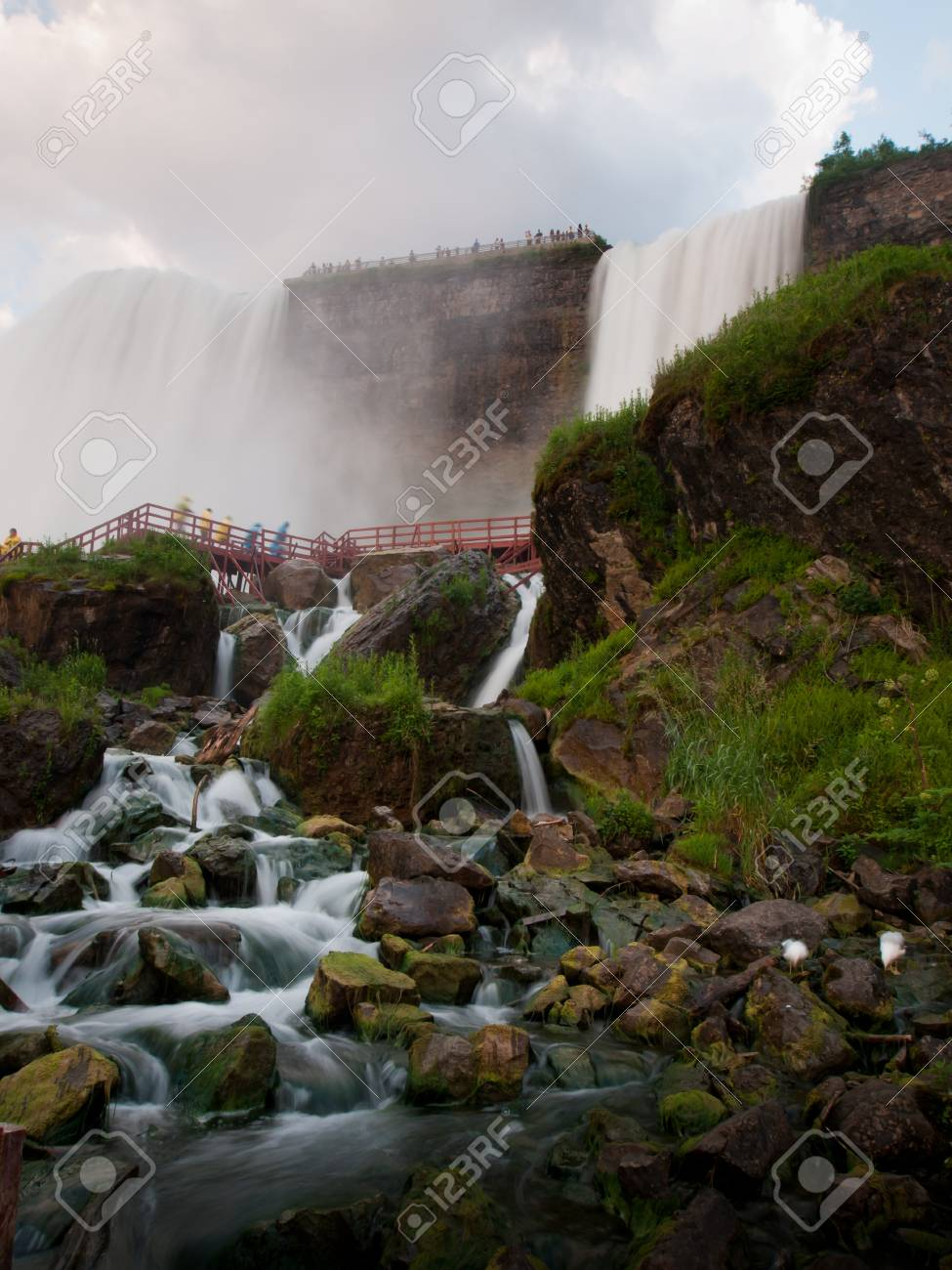 Photo of Niagara Falls from the US side. Stock Photo - 9899489