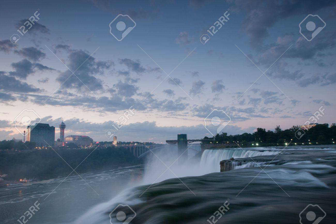 Photo of Niagara Falls from the US side. Stock Photo - 9899477