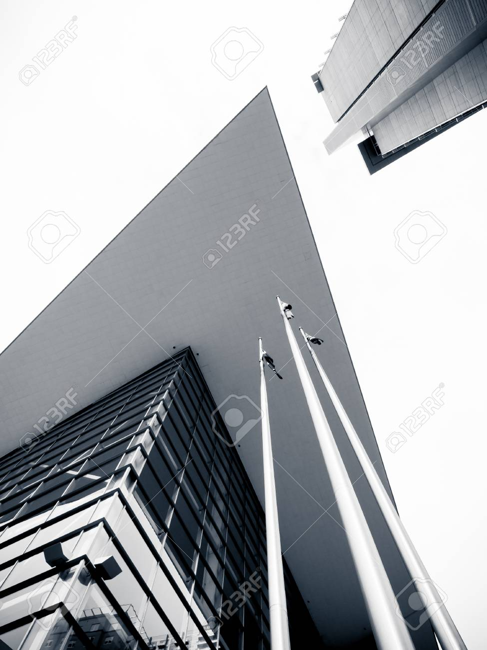 Detail of the Colorado Convention Center in Downtown Denver. Stock Photo - 10368784