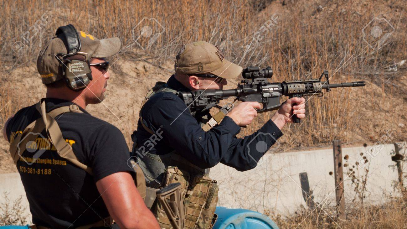Tactical rifle training course  Course provided by Anthony Navarro