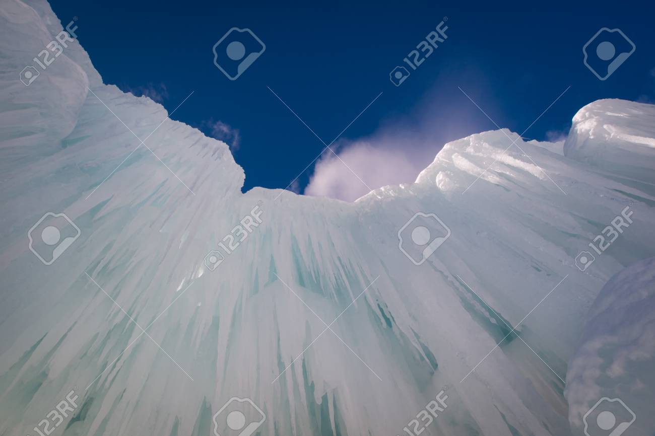 Ice Castles of Silverthorne, Colorado. Stock Photo - 12048119