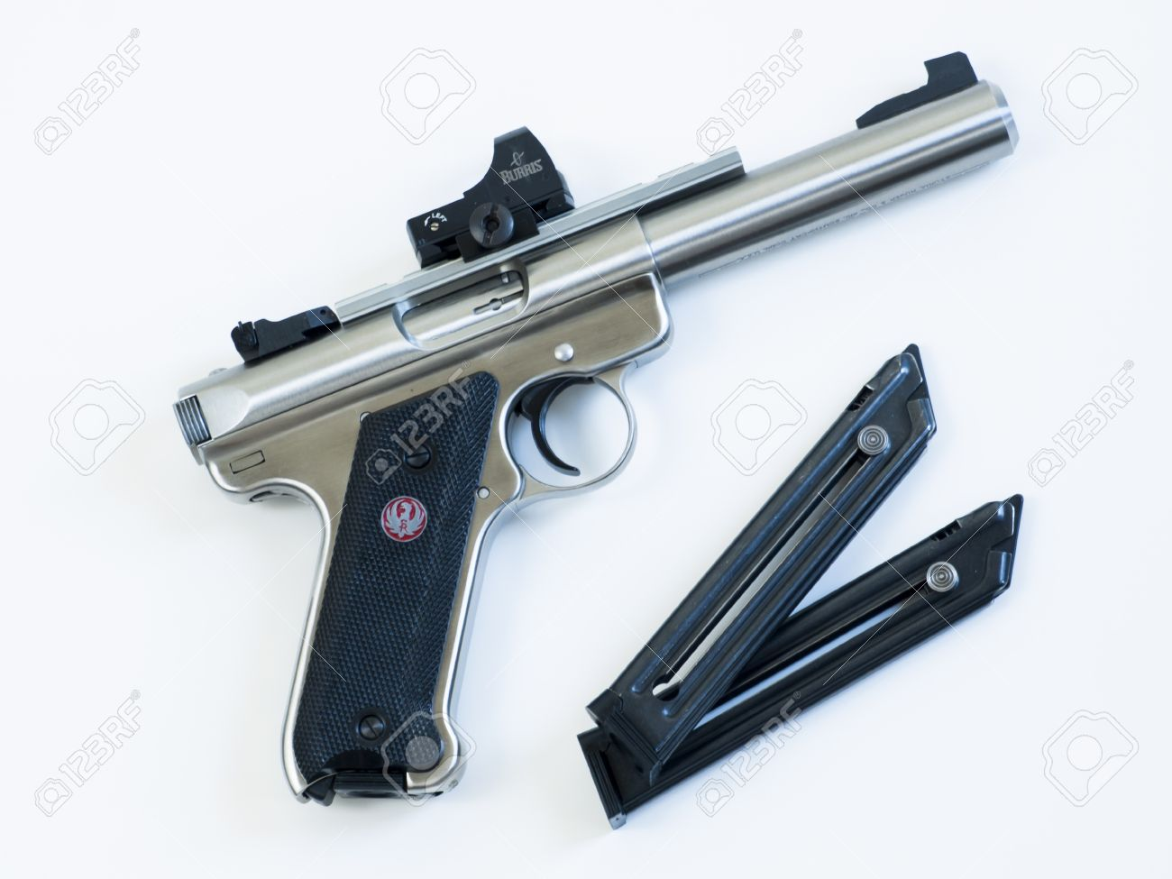 the ruger mk iii is a 22 long rifle semi automatic pistol