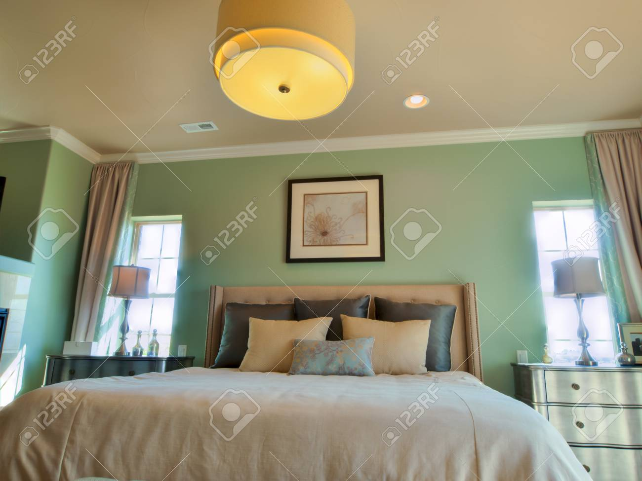 Residential interior of modern house. Stock Photo - 15179689