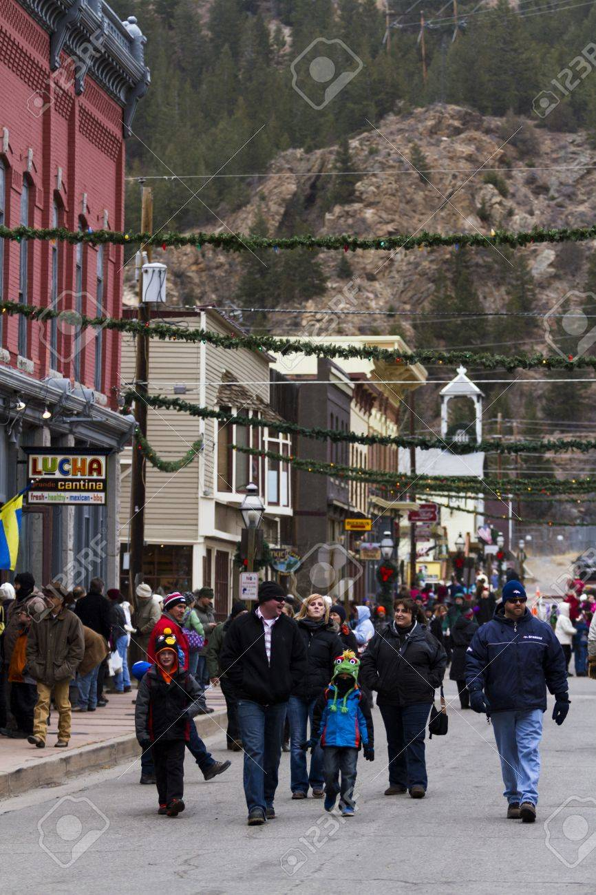 52nd Annual Georgetown Christmas Market in Georgetown, Colorado