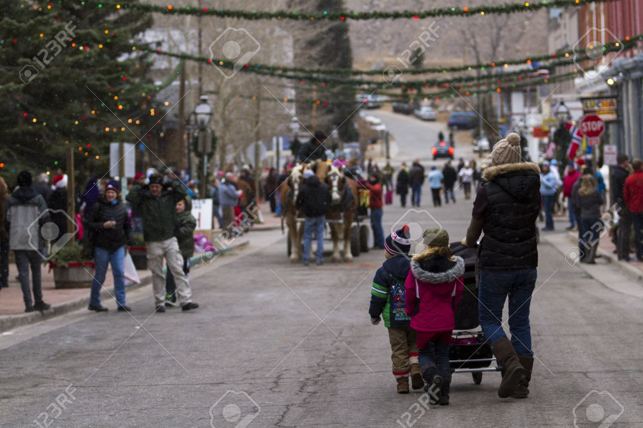 52nd Annual Georgetown Christmas Market In Georgetown, Colorado ...