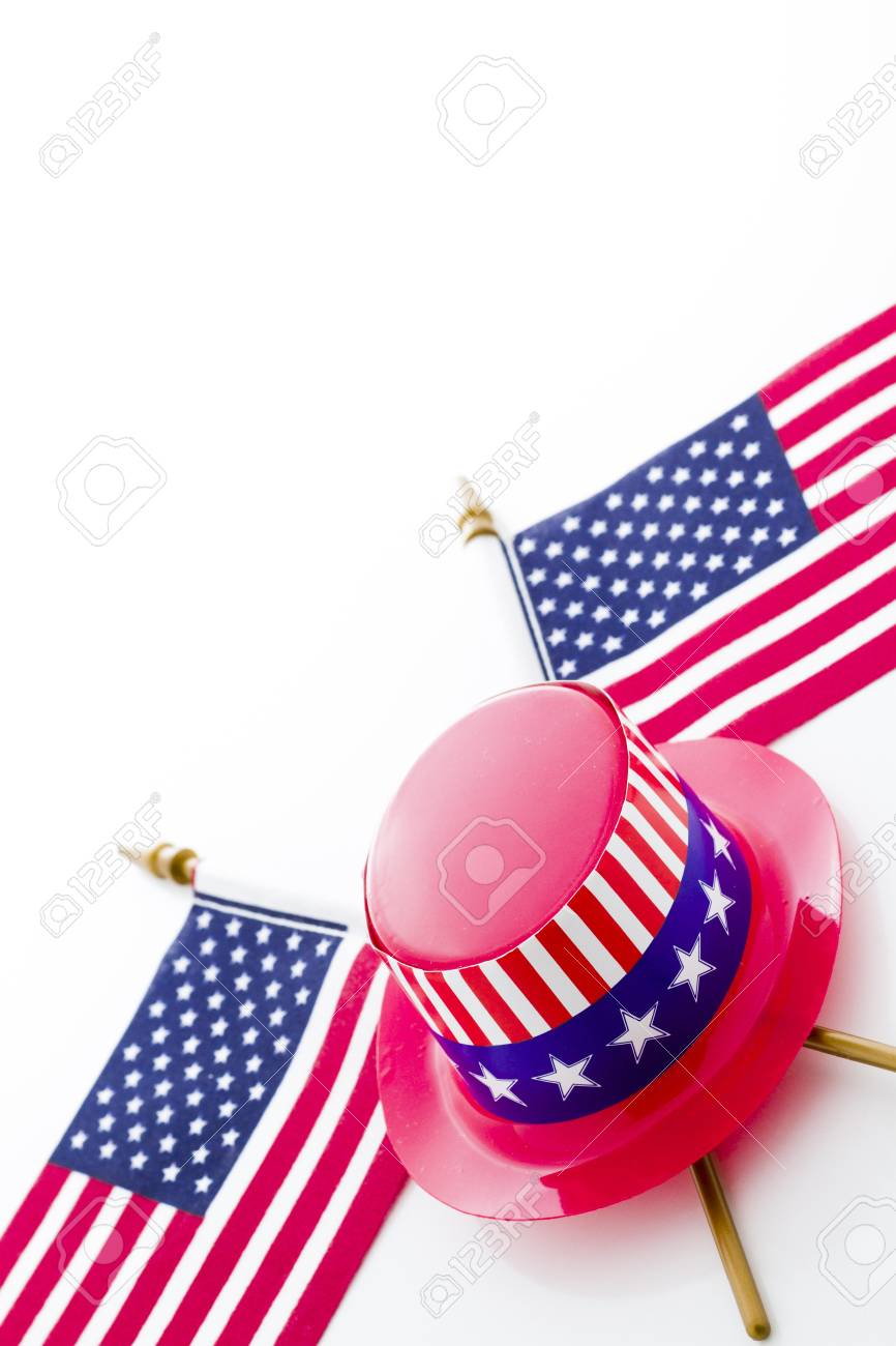Patriotic items to celebrate July 4th. Stock Photo - 19928678