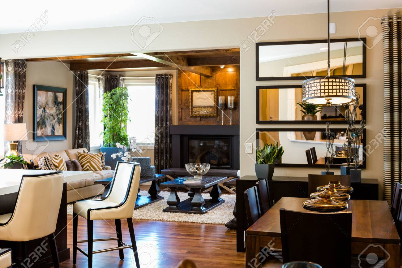 Denver, Colorado, Etats-Unis-Août 7, 2014 Luxe Intérieur De Maison ...