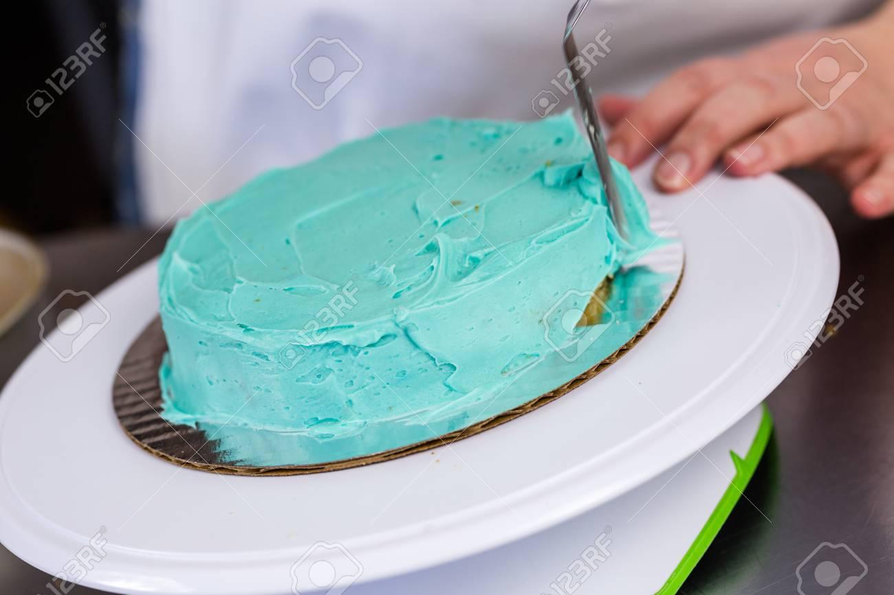 Astonishing Making A Small Birthday Cake For Toddlers Birthday Stock Photo Personalised Birthday Cards Sponlily Jamesorg