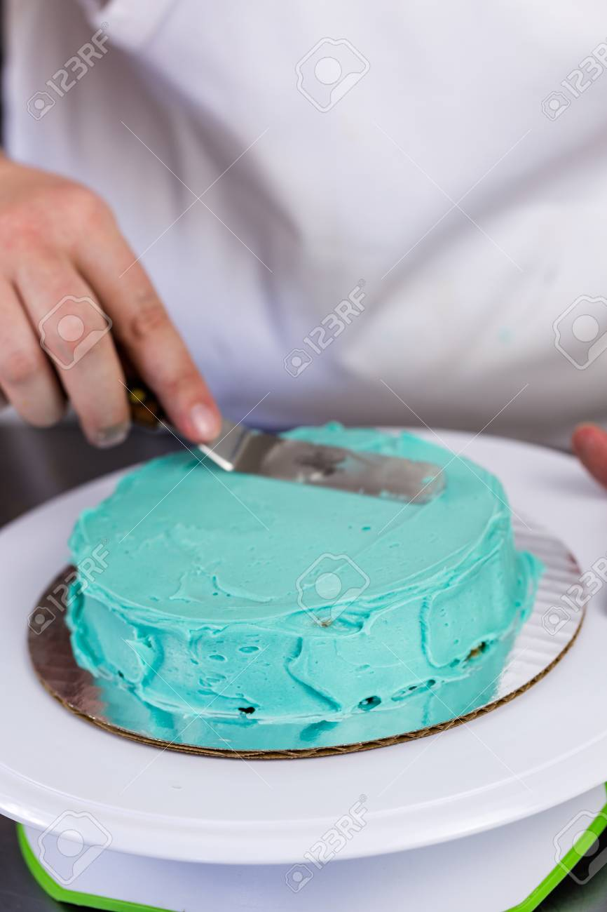 Admirable Making A Small Birthday Cake For Toddlers Birthday Stock Photo Personalised Birthday Cards Sponlily Jamesorg