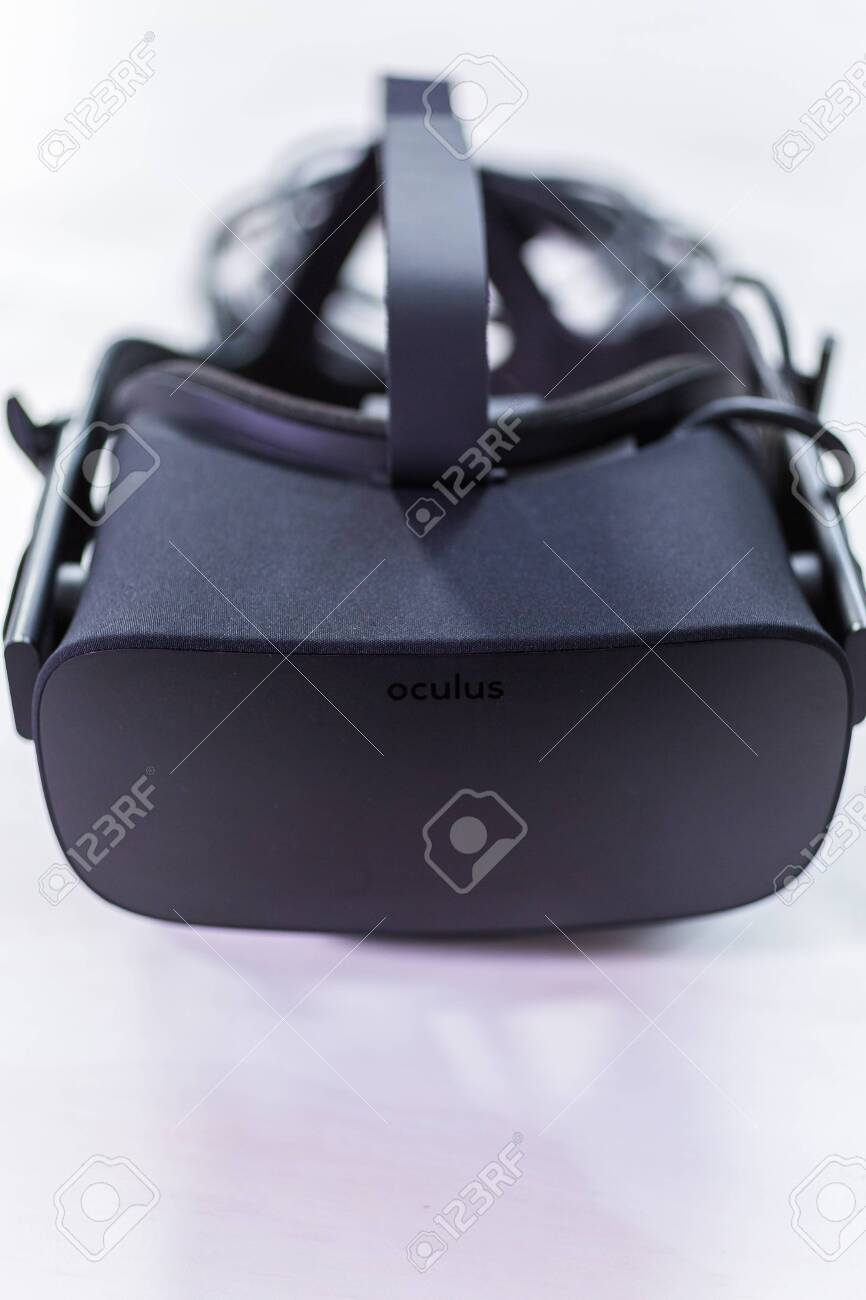 Denver, Colorado, USA January 20, 2019 Oculus Rift touch..