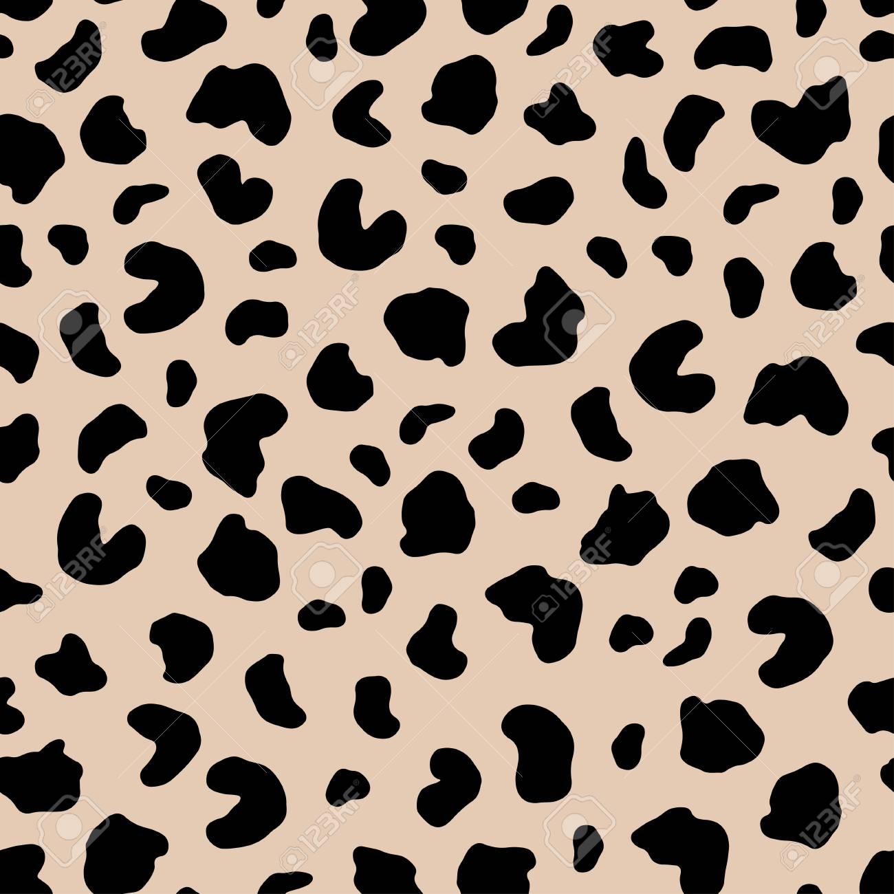 Seamless Abstract Pattern Art Texture With Hand Painted Crossing