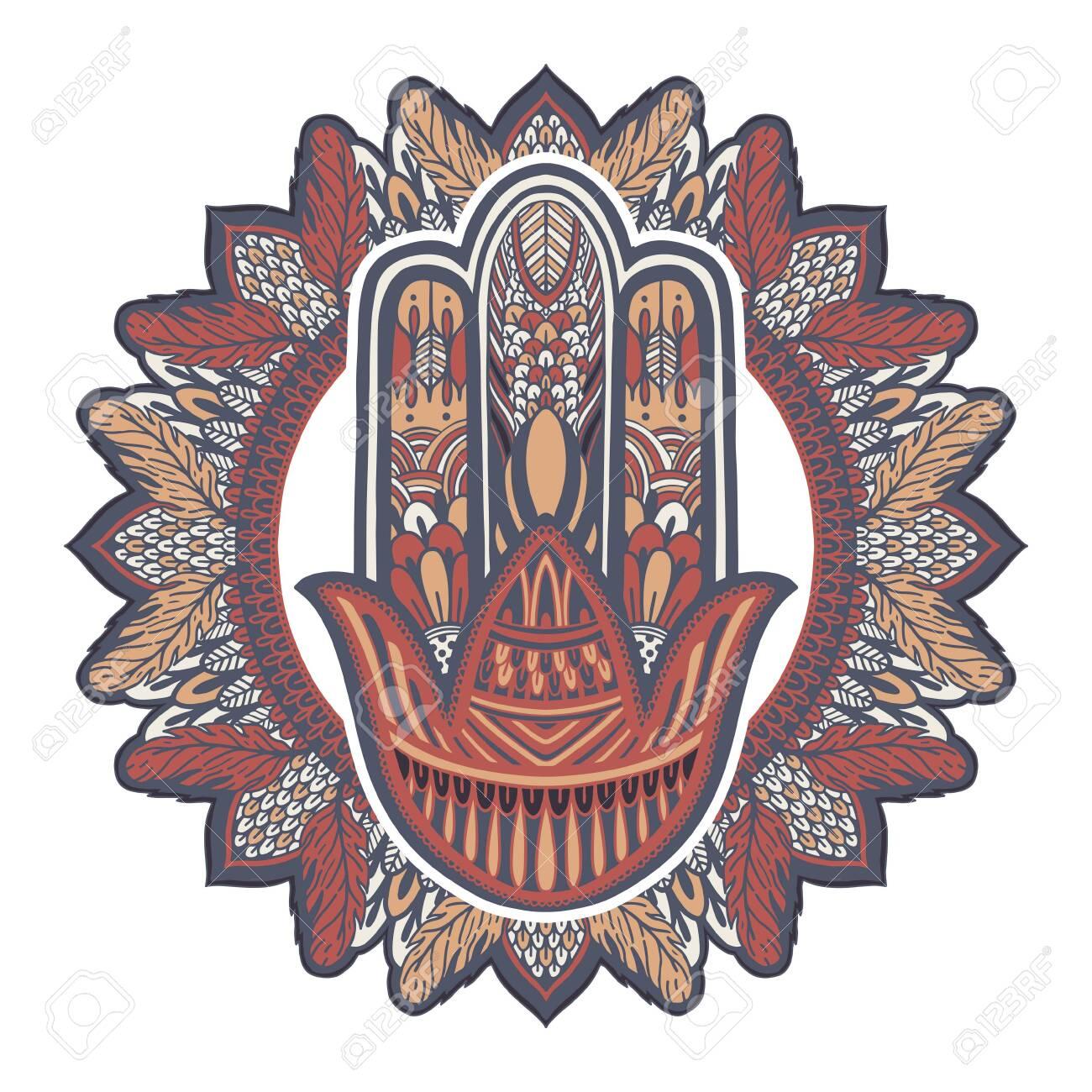 Hamsa talisman religion Asian  Symbol of protection and talisman