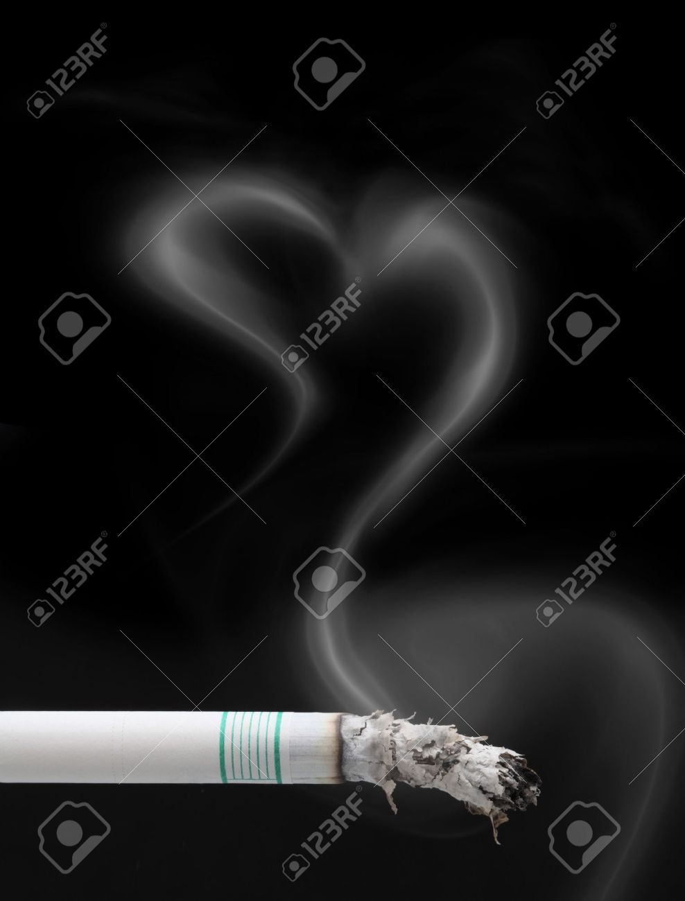 smoking is not healthy for your health Stock Photo - 6324387