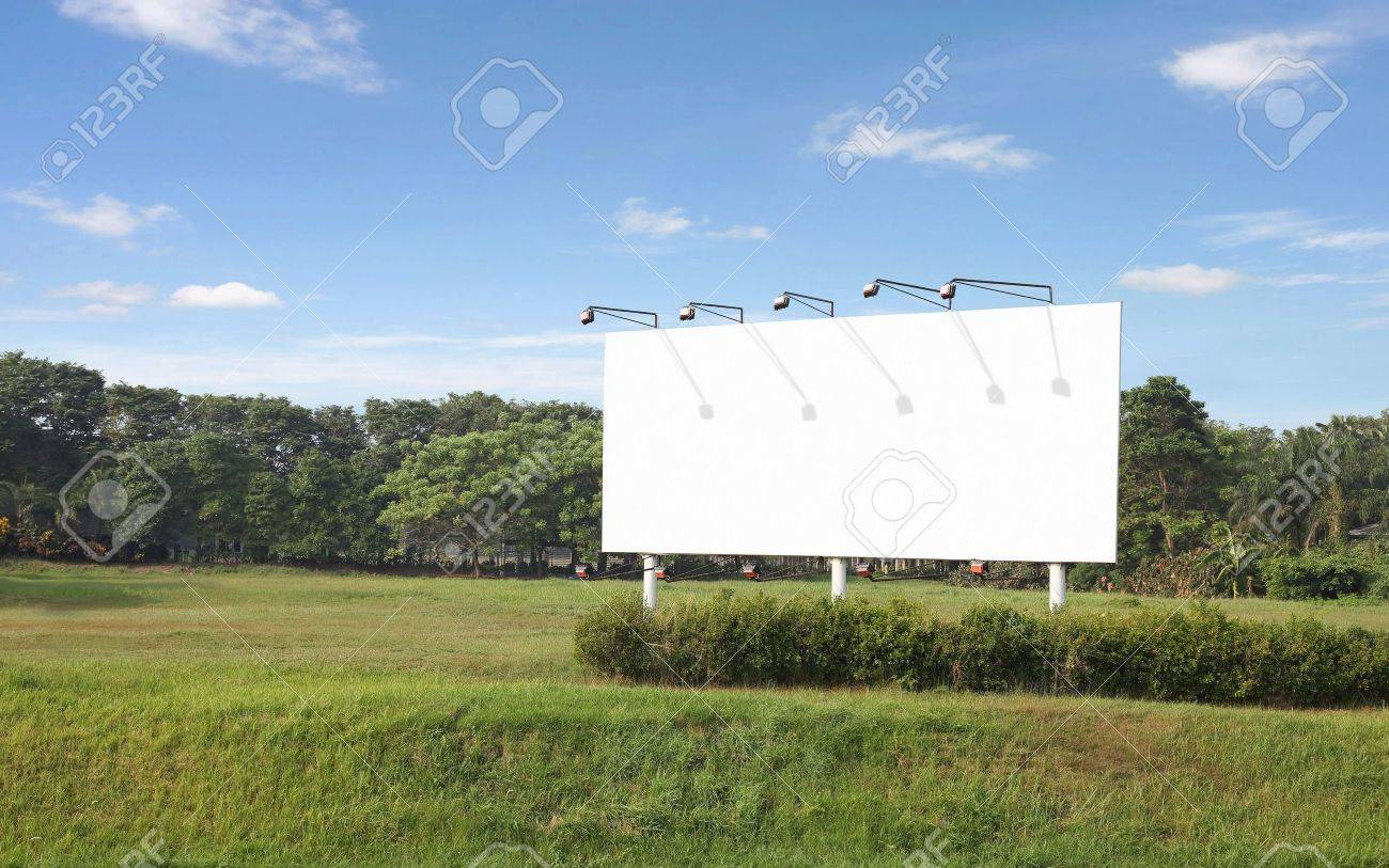 blank billboard with your own message Stock Photo - 6407669