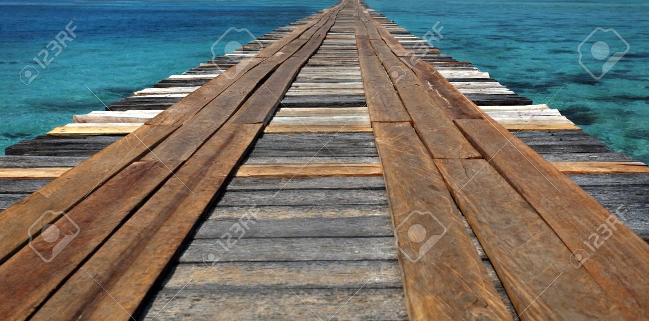Bridge on  water Stock Photo - 10628055
