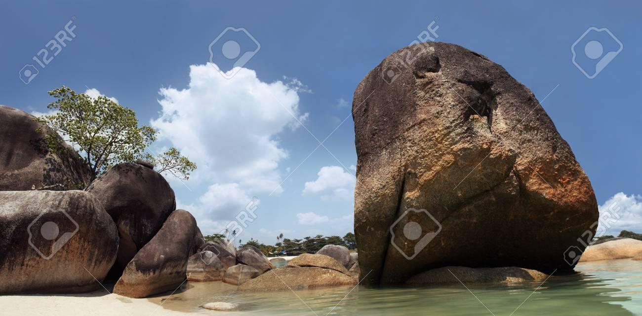 granite stone on beach Stock Photo - 10652272