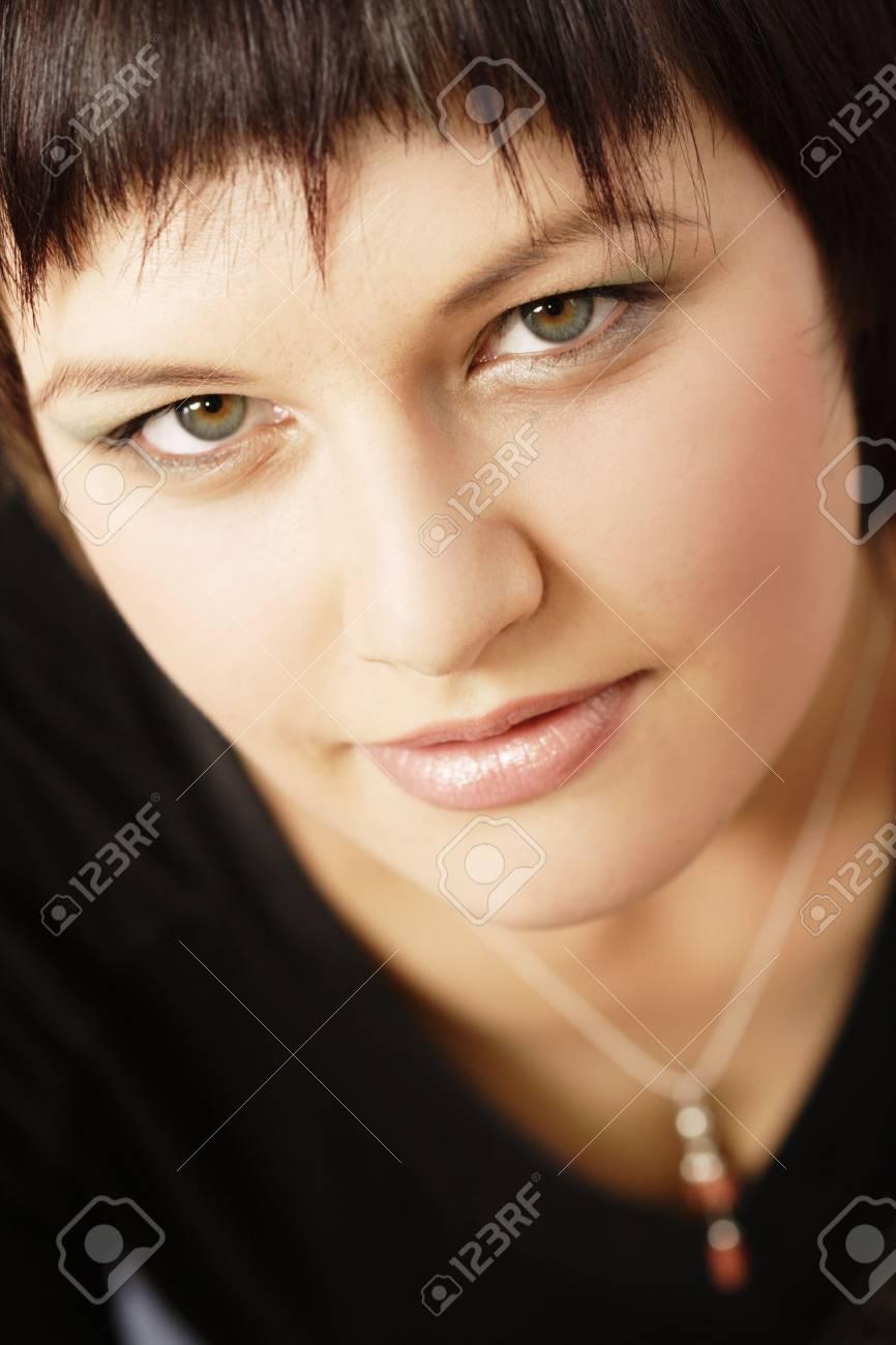 Portrait of a pretty woman Stock Photo - 958998