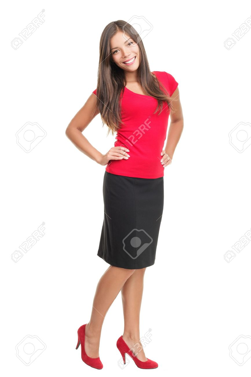 Woman Dressed