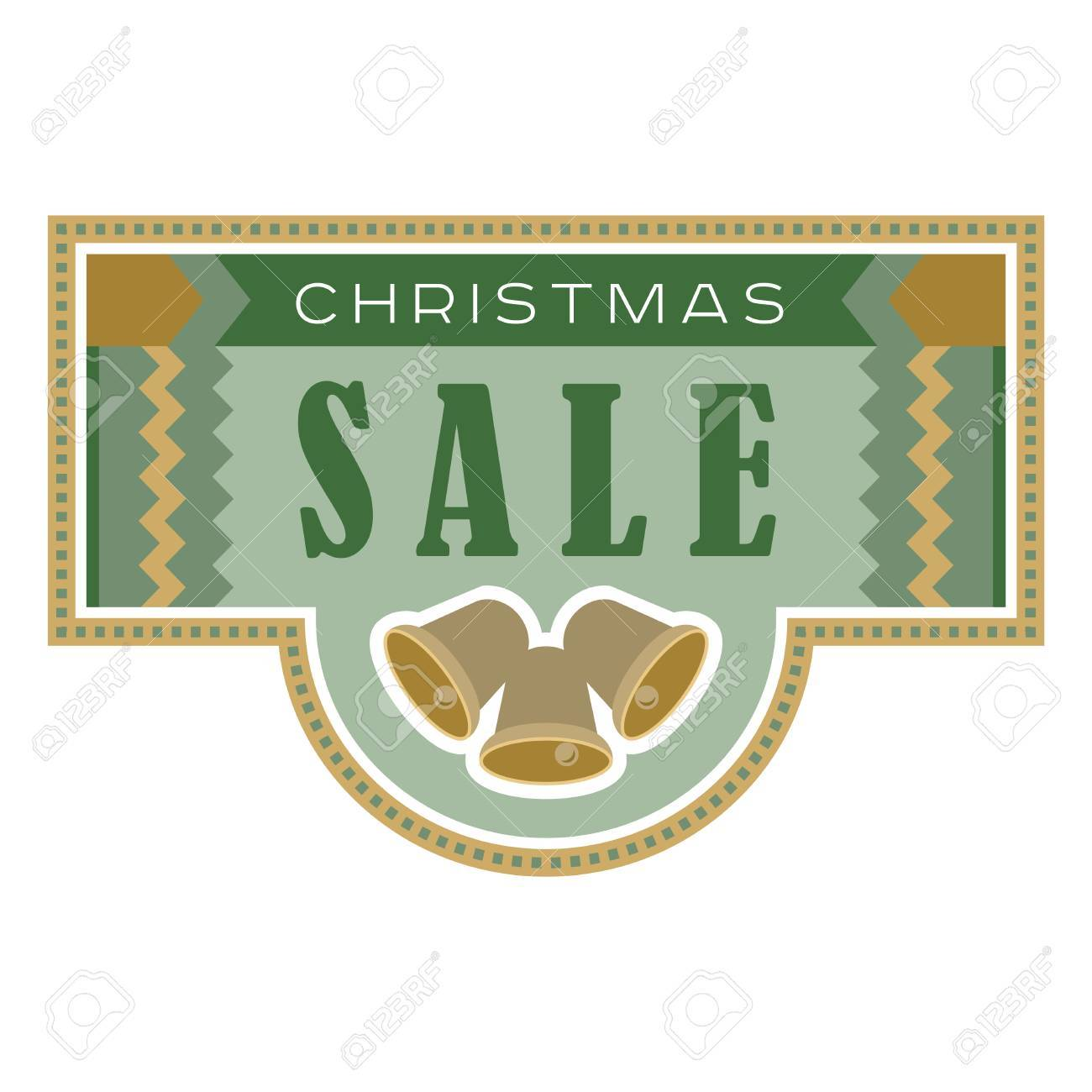 sale and discount card banner flier christmas sale title