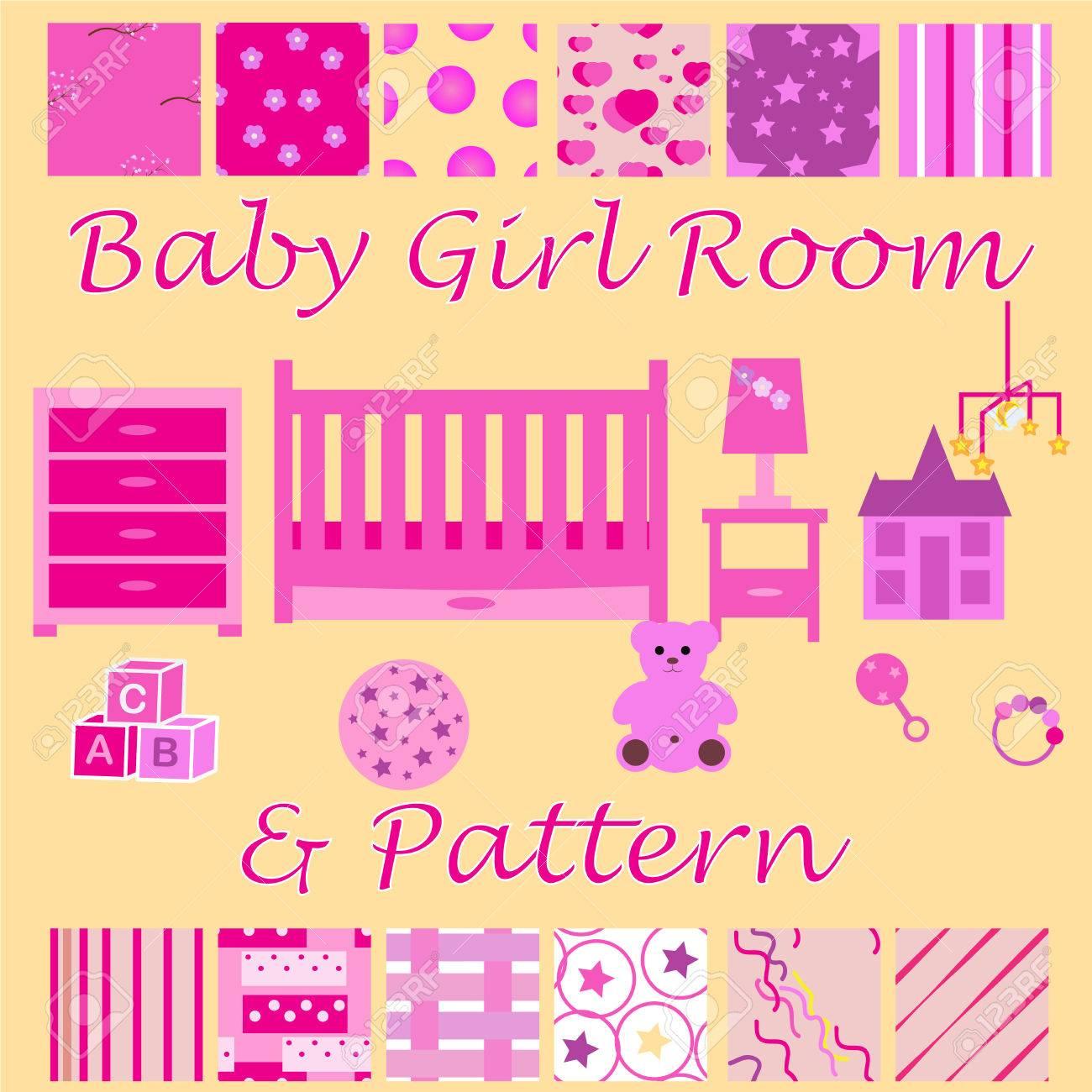 新生児の女の子のための子供部屋 赤ちゃん女の子ベッドルーム家具や