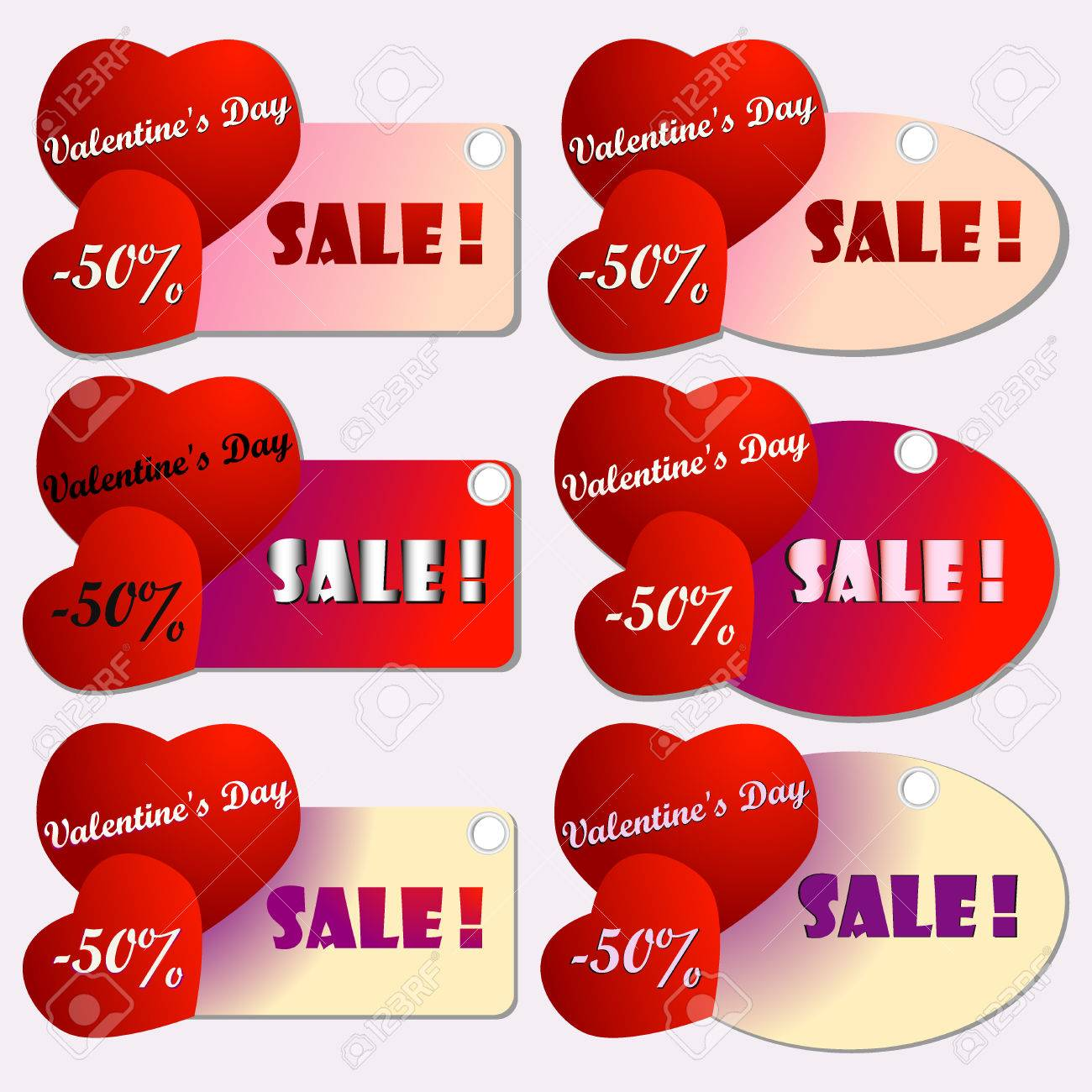 Happy Valentines Day Cards With Hearts Saint Valentine S Day