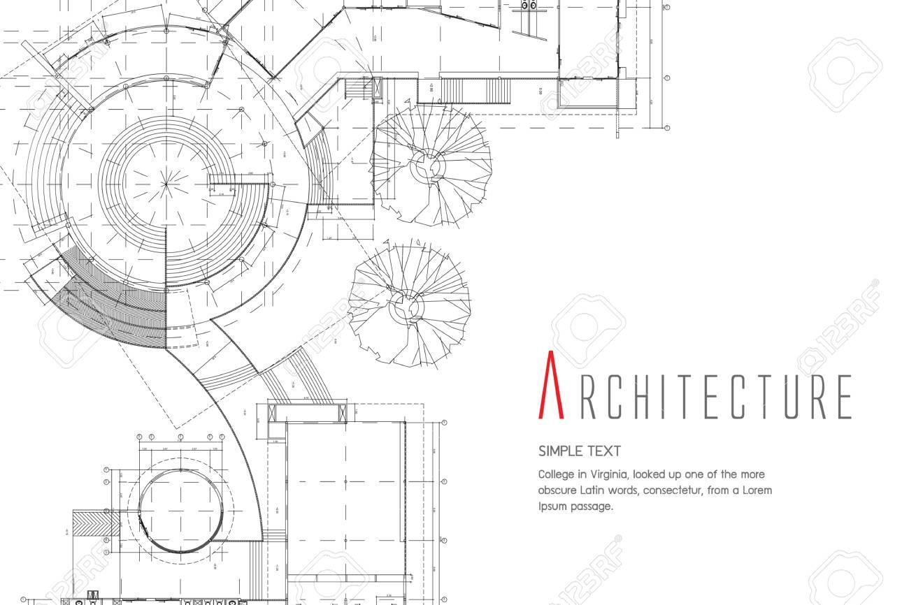Architecture blueprint design ilustraciones vectoriales clip art architecture blueprint design foto de archivo 85283395 malvernweather Image collections