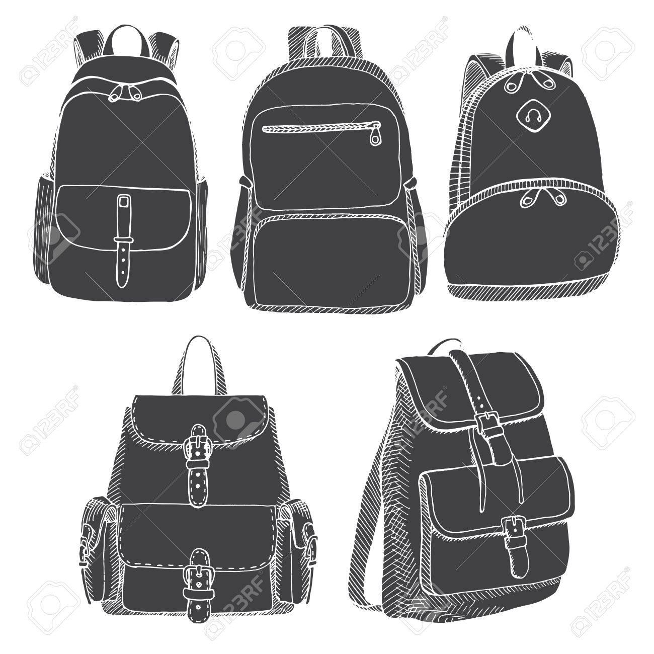 55c91fbf1c Set Of Different Backpacks
