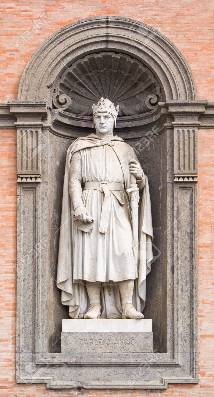 Statue Of Charles I Of Anjou, ...