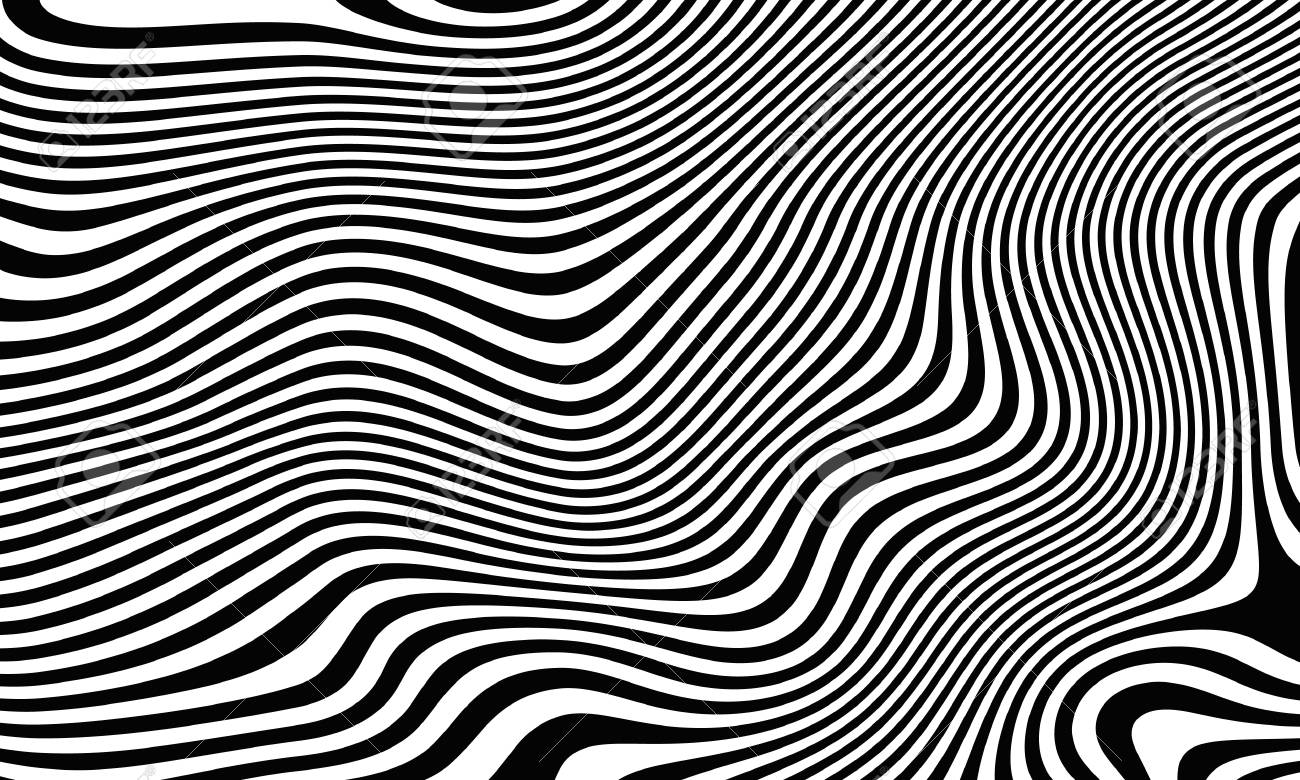 Black white stripes in the style of fell zebra abstract striped background option 2