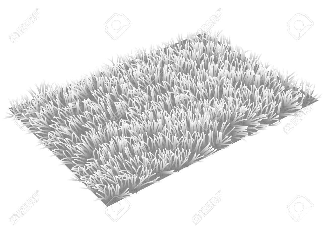 white carpet background. rug gray carpet isolated on white background stock vector - 29650836