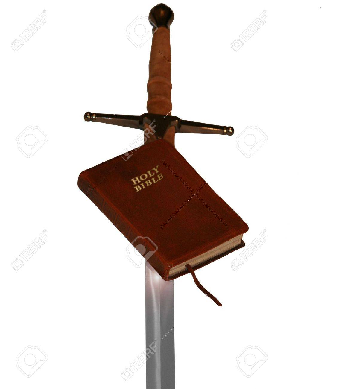 Bible and Sword Stock Photo - 3280967