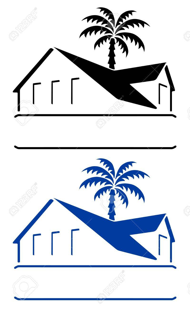 Bungalow sign Stock Vector - 11358079