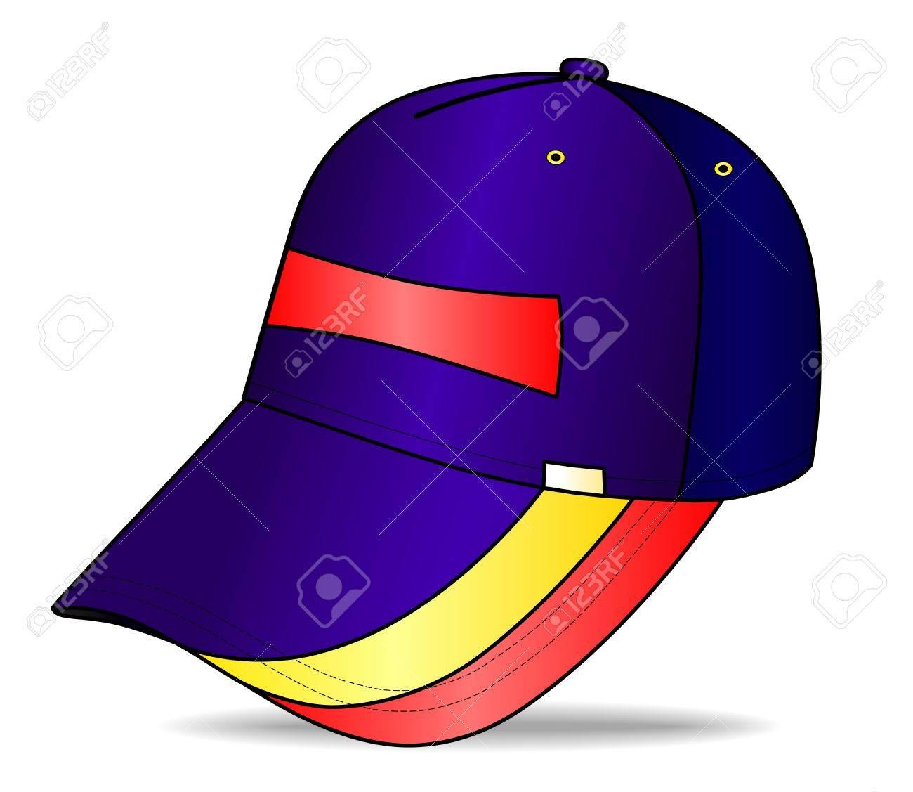 88994b11bf8 Baseball cap Stock Vector - 11358084